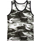 City Camouflage Military Physical Training Tank Top