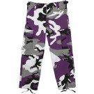 Purple Camouflage Kids Military BDU Pants