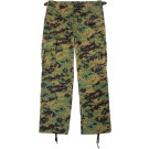 Woodland Digital Camouflage Kids Military BDU Pants