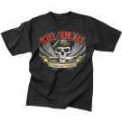 Kill Em All Let God Sort Em Out Military Forces Black T-Shirt