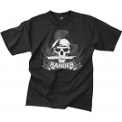 Black Ranger Skull Knife Special Forces Vintage T-Shirt