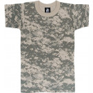 ACU Digital Camouflage Kids Military Tactical T-Shirt