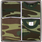 Woodland Camouflage Military Style Infant Baby Gift Set
