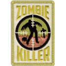 Khaki Zombie Killer Patch With Hook Back