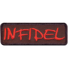 Brown Infidel Patch With Hook Back