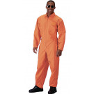 Orange Military Air Force Style Flight Suit Coveralls