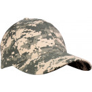 ACU Digital Camouflage Adjustable Supreme Low Profile Baseball Cap