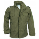 Olive Drab Military M-65 Field Jacket