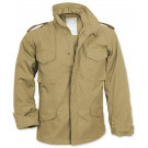 Khaki Military M-65 Field Jacket
