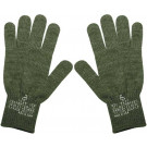 Olive Drab Genuine GI Wool Gloves Liner (USA Made)
