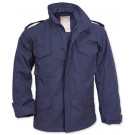 Navy Blue Military M-65 Field Jacket