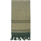 Foliage Green Shemagh Heavyweight Arab Tactical Desert Keffiyeh Scarf