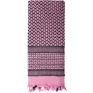Pink Shemagh Heavyweight Arab Tactical Desert Keffiyeh Scarf