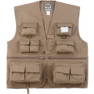 Kids Khaki Outdoors Fishing & Travel Vest