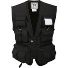 Kids Black Outdoors Fishing & Travel Vest