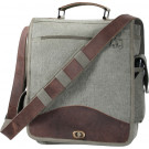 Olive Drab Vintage M-51 Engineers Field Journey Military Laptop Bag