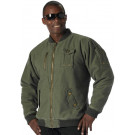 Olive Drab Vintage Military Enhanced CWU-99E Flight Jacket