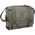 Olive Drab Vintage Military B-15 Pilot Tactical Messenger Shoulder Bag