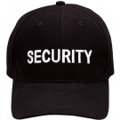 Black Law Enforcement Security Supreme Low Profile Insignia Cap