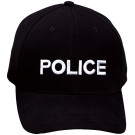 Black Law Enforcement Police Supreme Low Profile Adjustable Cap