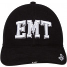 Black Law Enforcement EMT Deluxe Low Profile Adjustable Cap
