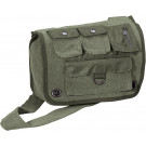 Olive Drab Vintage Military Tactical Survivor Shoulder Bag
