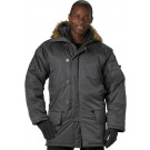 Black Military N-3B Snorkel Parka Jacket