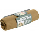 "Coyote Brown Microfiber Fast Drying Hand Towel 15"" x 24"""