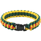 Vietnam Pattern Survival Paracord Cobra Bracelet w/ Buckle