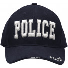 Navy Blue Law Enforcement Police Deluxe Low Profile Adjustable Cap