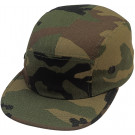 Woodland Camouflage Military Street Adjustable Hat Urban Cap