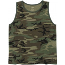 Woodland Camouflage Military Vintage Tank Top