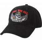 Black Military Kill Em' All Deluxe Low Profile Adjustable Cap