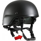 Black Military MICH Tactical Helmet Chin Strap