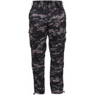 Subdued Urban Digital Camouflage Military Cargo BDU Fatigue Pants