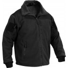 Black Tactical Special Operations Fleece Jacket