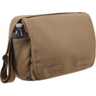 Mocha Heavy Weight Classic Messenger Shoulder Bag