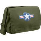 Olive Drab Air Corp Military Heavyweight Canvas Classic Messenger Bag