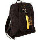 Black Canvas Deployment Flight Backpack