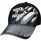 Black Military Make It Rain Deluxe Low Profile Adjustable Cap