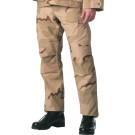 Tri-Color Desert Camouflage Rip-Stop Military Cargo BDU Fatigue Pants