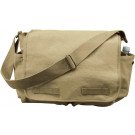 Khaki Vintage Heavy Weight Classic Messenger Shoulder Bag