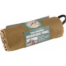 "Coyote Brown Microfiber Fast Drying Large Body Towel 30"" x 50"""