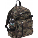 Smokey Branch Camouflage Vintage Military Canvas Mini Backpack