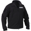 Black Special Ops Soft Shell Security Jacket