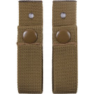Coyote Brown Military MICH Tactical ACH Helmet Goggle Straps Set