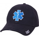 Navy Blue Emergency Star Of Life Deluxe Low Profile Adjustable Cap