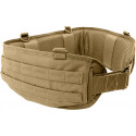 Coyote Brown Padded Tactical MOLLE Battle Belt