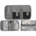 ACU Digital Camouflage Military Deluxe Nylon Commando Tri-Fold Wallet
