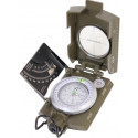 Olive Drab Zinc Deluxe Inclination Scale Fluorescent Marching Compass